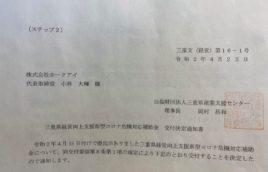 三重県経営向上支援新型コロナ危機対応補助金